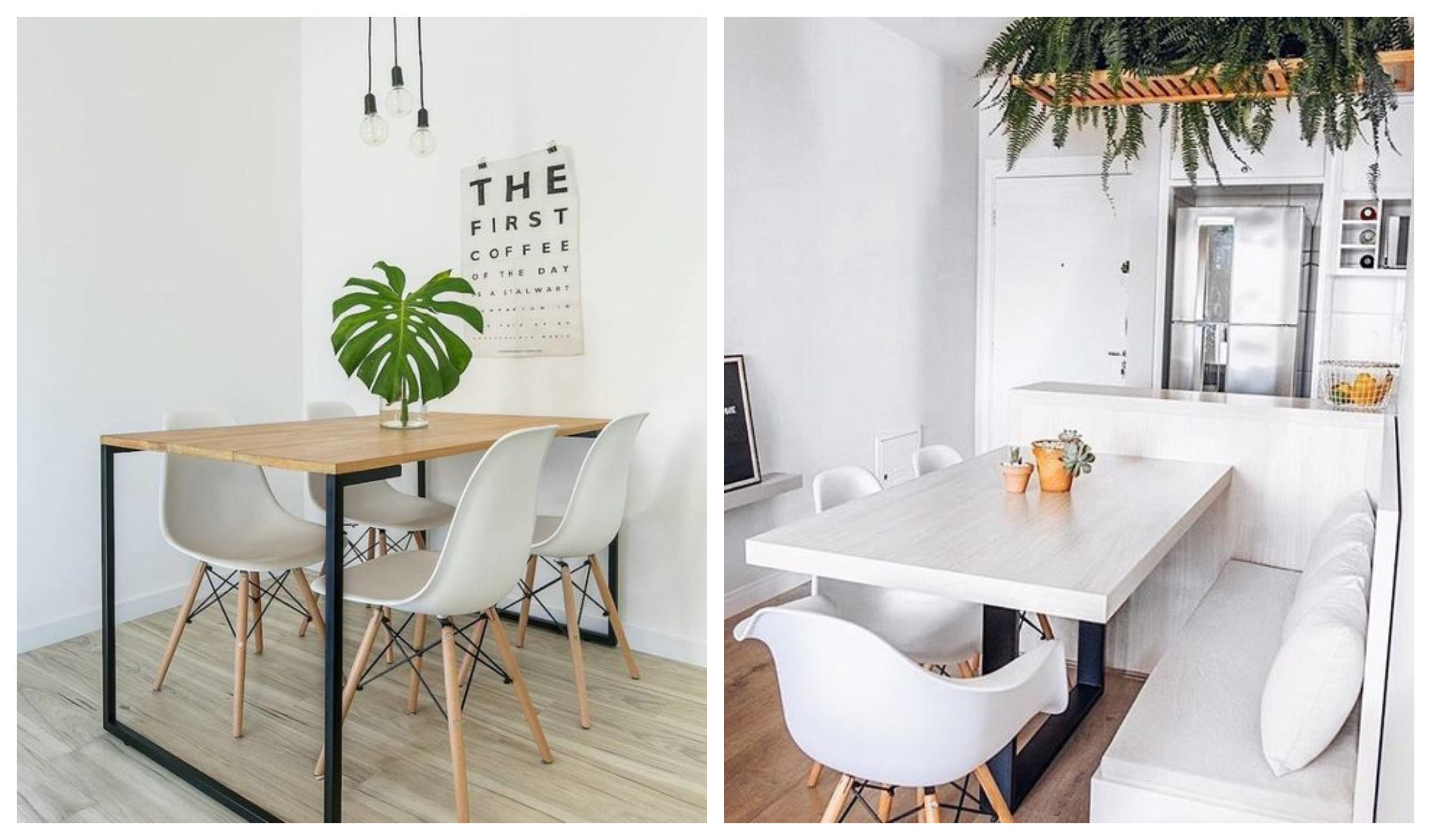 sala jantar minimalista
